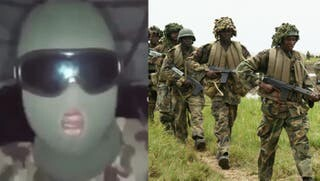 #EndSARS; The civilians are fighting for us, Don't let the government fool you - Nigerian soldier warns colleague