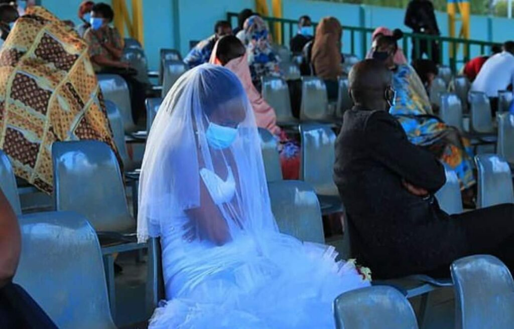 Couple And Guests Forced To Spend Wedding Night In Stadium For Breaking COVID-19 Rules in Rwanda