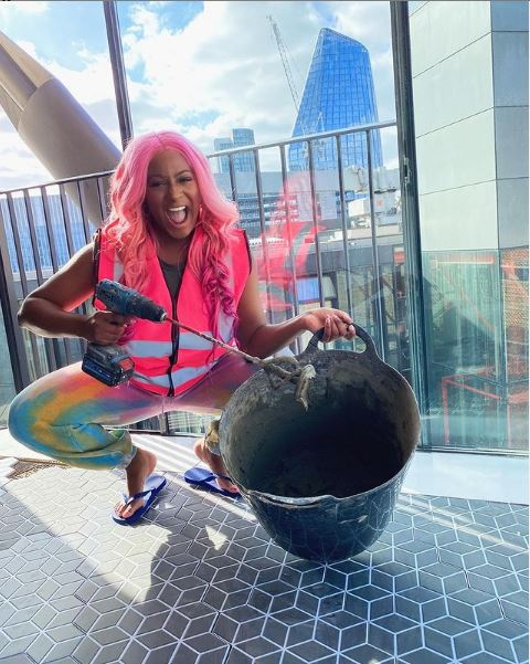 """""""I'm officially a homeowner"""" – DJ Cuppy notify fans on the acquisition of a pink penthouse in London"""