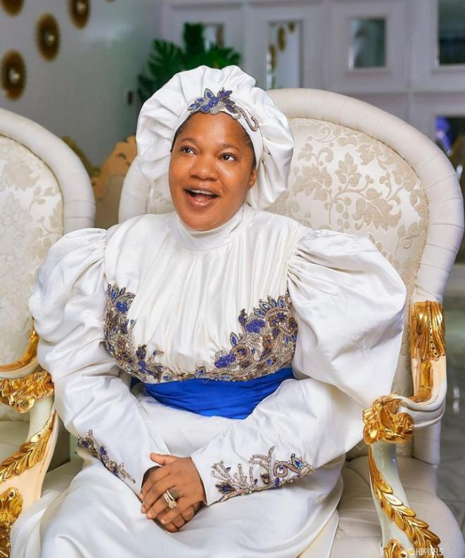 Toyin Abraham celebrates as 'Prophetess' makes over N43M in opening weekend.